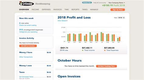 godaddy bookkeeping review techradar