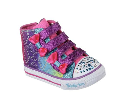 Skechers Light Up Shoes Toddler by Skechers Toddler S Twinkle Toes Shuffles Multicolor
