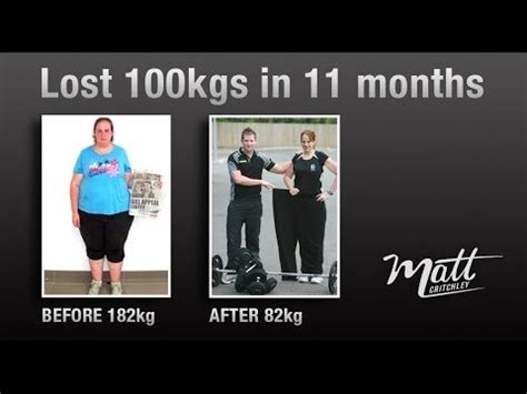 weight loss 80kg to 60kg 100kg weight loss in 11 months