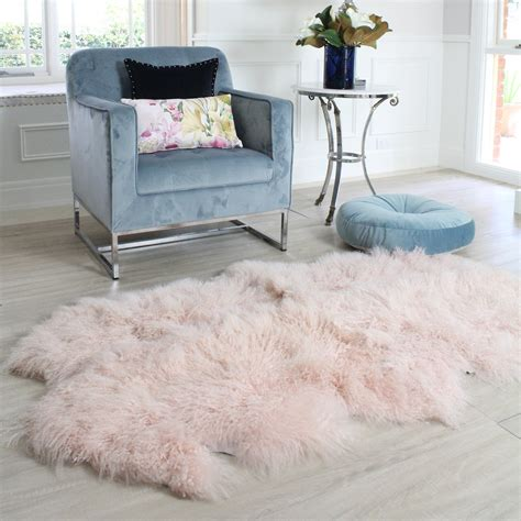 Sheepskin Runner Rug Stylish And Luxurious Tibetan Mongolian Sheepskin Floor Runner Eluxury Home
