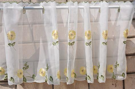 daisy kitchen curtains free shipping pastoral ᐅ terylene terylene tulle yarn