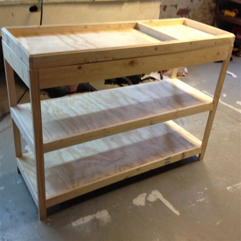 How To Build A Baby Changing Table Building A Changing Table Frugal Living