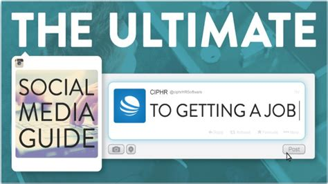 the guide to the ultimate social media guide to getting a