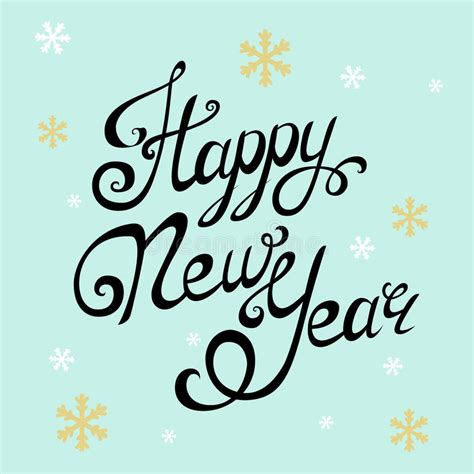 new year calligraphy vector free happy new year lettering handmade calligraphy
