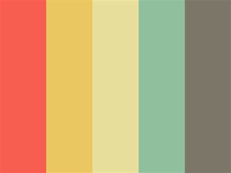 bright retro color palette paint closet retro color inspiration