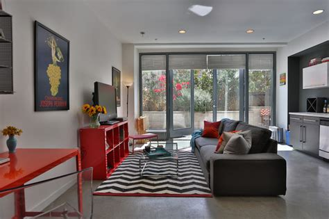 Apartment Living Los Angeles Studio Apartment In Los Angeles Industrial Family Room
