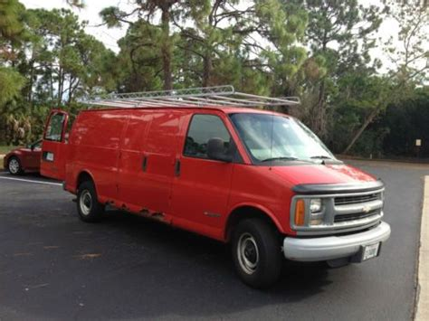 how things work cars 1997 chevrolet express 2500 parental controls purchase used 1997 chevy 3500 express cargo work van in melbourne florida united states