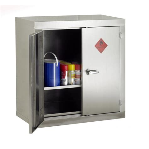 stainless steel storage cabinets stainless steel flammable storage cabinet 915mmw x 1830mmh