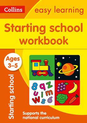 0008151601 starting school workbook ages starting school workbook ages 3 5 image books from scotland