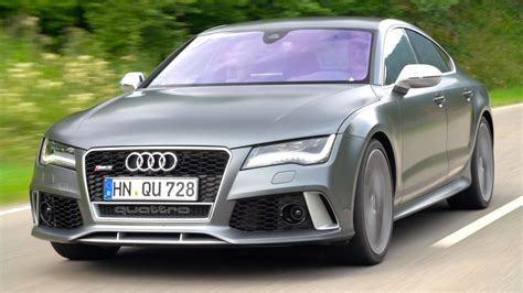 audi germany 2014 audi rs7 top speed bahnstorming in germany ign