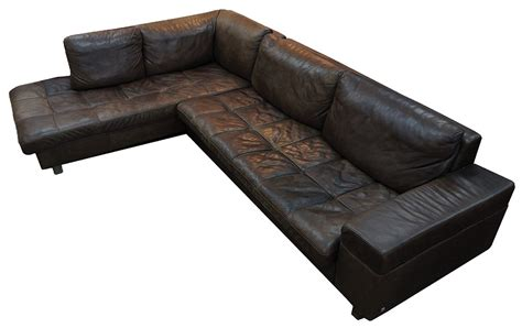 Distressed Leather Sectional Sofa Distressed Leather Sofa