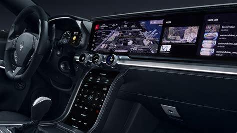 Cockpit Auto by Samsung Harman Show Autonomous Car Parts Digital Cockpit