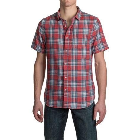 Jachs Ny Plaid Shirt Branded j a c h s single pocket faced plaid shirt for save 88