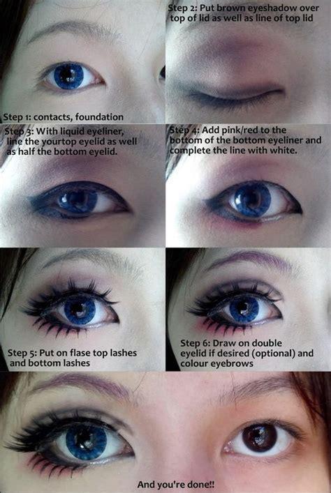 eyeliner tutorial bottom cosplay eye makeup tutorial by wenqiann on deviantart i
