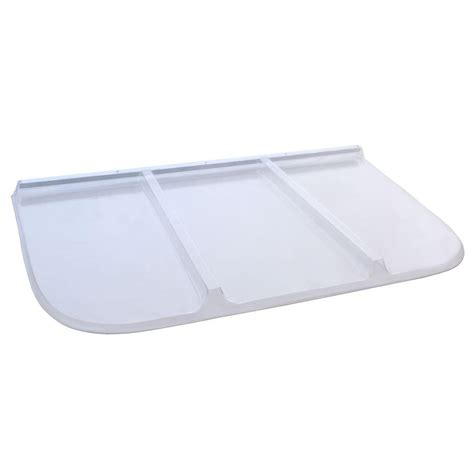 rectangular window well covers shape products 62 in x 38 in polycarbonate rectangular