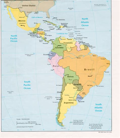 map of mexico and south america pin mexico south america on