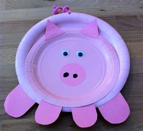 paper plate pig project ideas