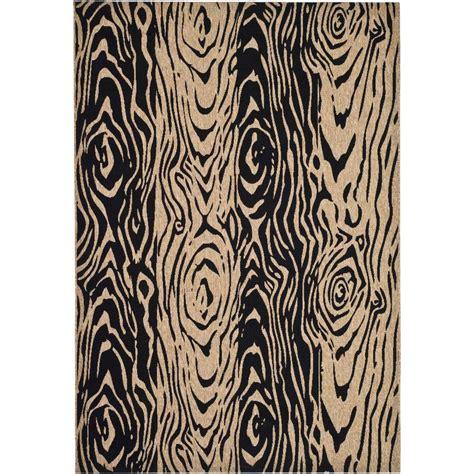 faux bois rug martha stewart living layered faux bois coffee black brown black 8 ft x 11 ft 2 in area rug