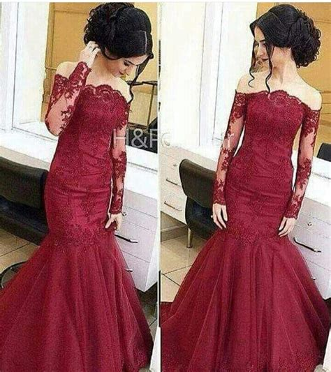 wine colored prom dresses wine colored lace evening dress mermaid