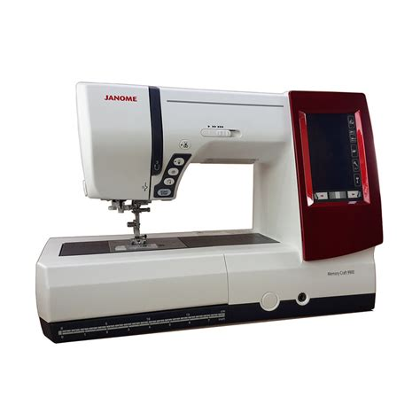 Mesin Bordir Portable jual janome memory craft 9900 mesin jahit bordir komputer dan quilting portable harga