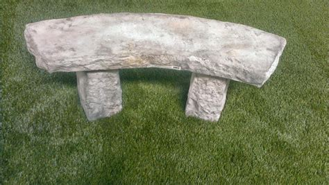 rock benches for garden decorative curved benches faux rock garden benches