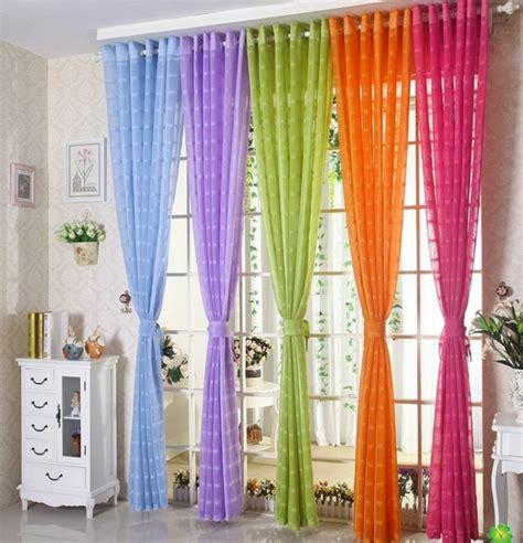 bunte gardinen 50 gardinen in lila hauchd 252 nne stoffe und feminines flair