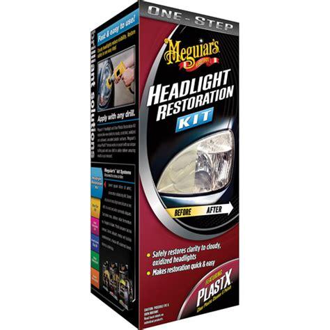 headlight restoration kit meguiar s one step headlight restoration kit walmart