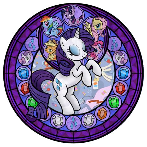 mlp nightmare moon stained glass uwielbiamymylitllepony