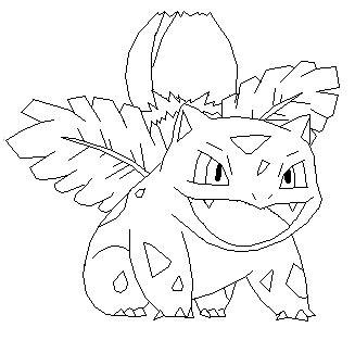 pokemon coloring pages ivysaur ivysaur base by thecat1313 on deviantart