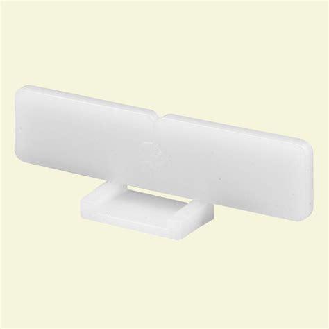 Plastic Drawer Brackets by Prime Line Plastic Drawer Track Front Bracket R 7239 The