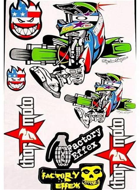 Moped Army Sticker by Moto Cross Bikes