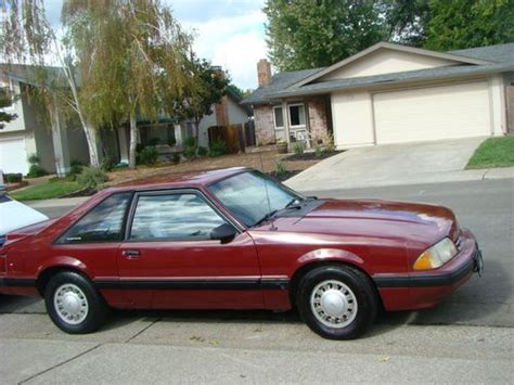 ford mustang third generation buy used 1989 ford mustang lx third generation 3 door