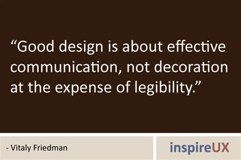 design is not decoration good design is about effective communication not
