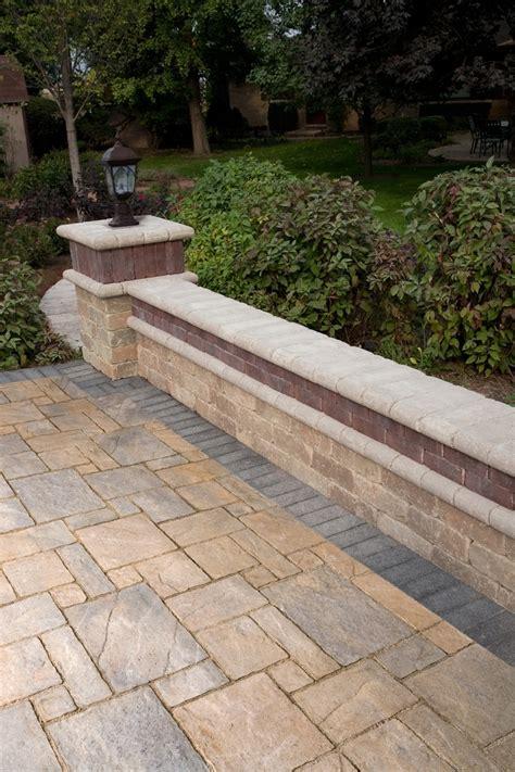 Unilock Coping Pin By Unilock On Retaining Garden Walls