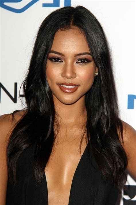 what hair products does karruche tran use pin karrueche tran wavy hair pop on the on pinterest