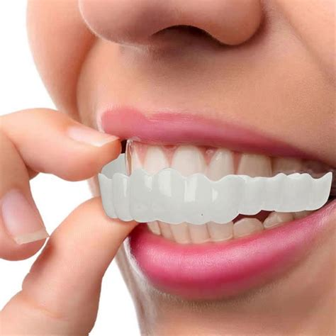 whitening snap perfect smile tooth cover  smile instant