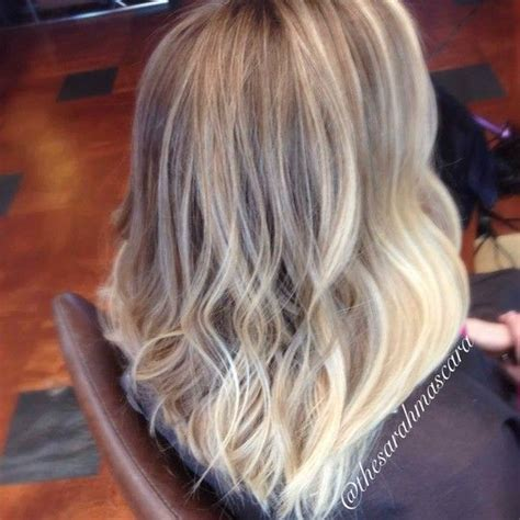 blond ombre bob natural blonde ombre sombre long bob wavy hair hair by