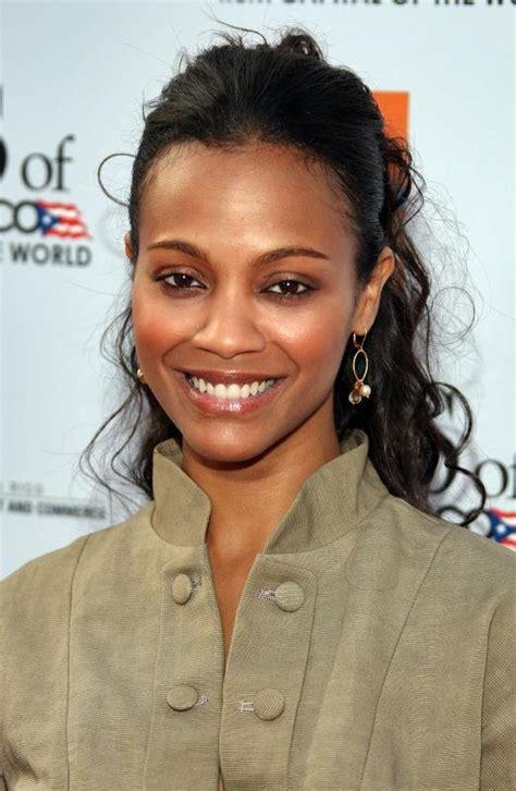 african american female movie stars zoe saldana slideshows