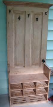 Shoe Entryway Bench Tall Hall Tree Wooden Bench With Shelves Antique By