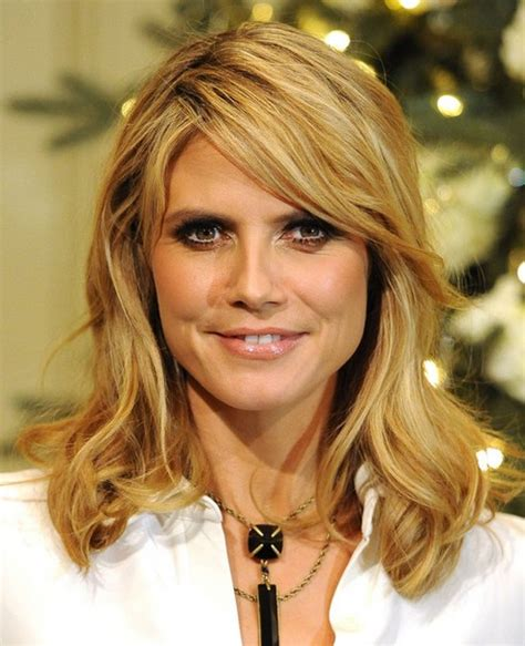 medium haircuts heidi klum 2014 heidi klum medium hairstyles pretty designs