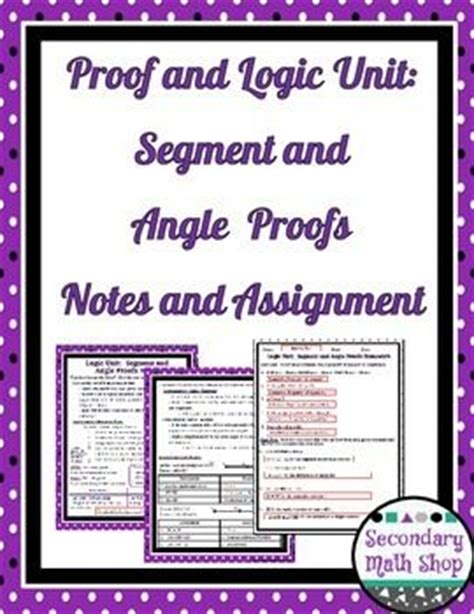 Geometry Logic Worksheets With Answers