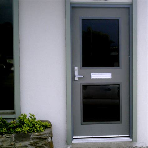 hollow metal doors with glass hollow metal doors personnel doors doors