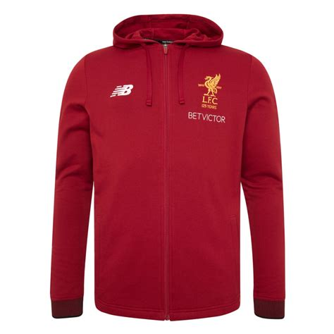 Hoodie Zipper Liverpool Nb 1 buy lfc mens pepper travel hoody 17 18 liverpool fc