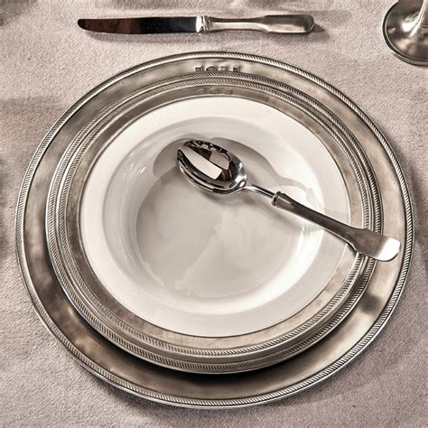 pewter charger pewter charger plate italian pewter dinnerware