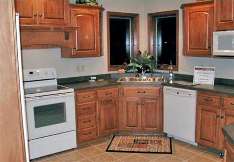 Kitchen Design With Corner Sink Corner Kitchen Cabinet Designs Nicez