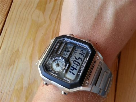 Casio Illuminator Ae 1200whd 1avdf s casio world time alarm chronograph ae 1200whd