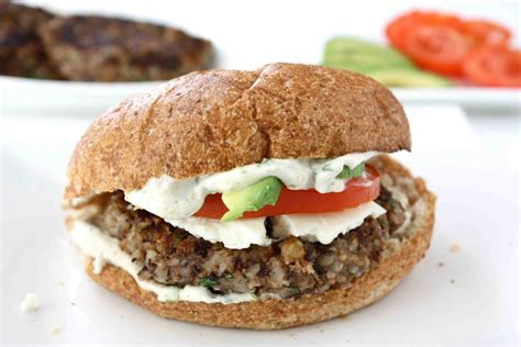 cuisinenie black bean burger recipe with cilantro lime mayo