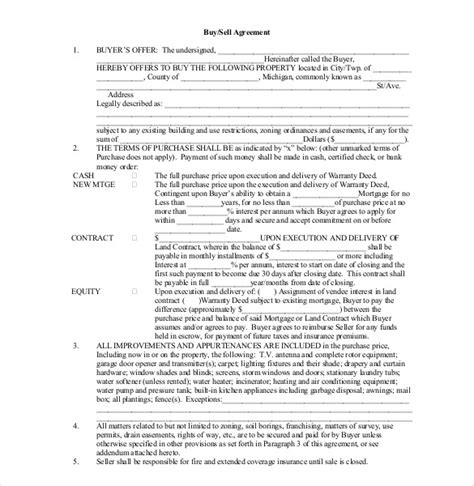buy sell agreement template free 20 buy sell agreement templates free sle exle