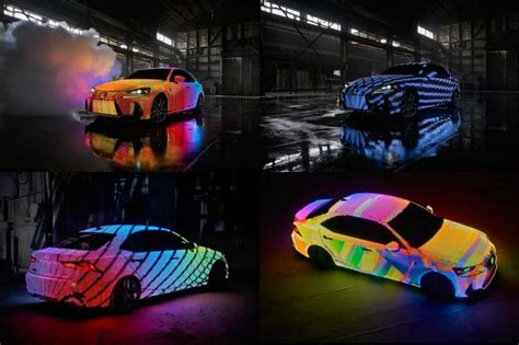 lexus lit lexus is lit a revolutionary color changing car