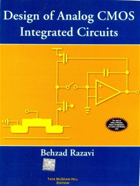 design of analog cmos integrated circuits razavi solution book design of analog cmos integrated circuits mcgraw hill 28 images electrical electronic